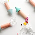 DIY Paper Rocket Party Crackers to Start Your Summer Party Off With a Bang