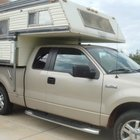 How to Load a Camper on a Pickup