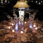 Decorating Banquet Tables