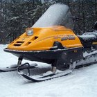 How to Change a Snowmobile Track
