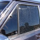 It is possible to remove overspray from your automobile's glass.