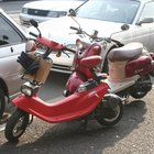 Vintage Vespas can sometimes be hard to find since they are no longer produced.