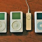 IPods are a popular type of MP3 player.