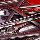 Mechanic's wrenches.
