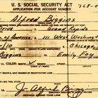 Get a Copy of Your Parents Social Security Application Forms for Family History Research