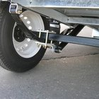 Install your tandem axles with leaf spring suspension for hauling heavy loads.