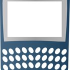 Frame of a BlackBerry phone