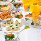 Ideas for a Wedding Reception Buffet