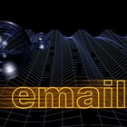 Configure your email client to send copies of incoming email to another email address.