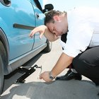 Replacing a flat tire on a Nissan Versa does not require any special tools.
