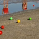 Simple Lawn Bocce Ball Rules