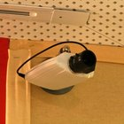 A webcam used for video conferencing.