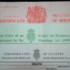Design a Birth Certificate