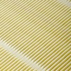 Cabin air filters clean the air that enters the passenger cab of a vehicle.