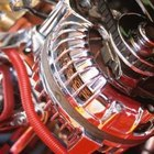 Close up of a vehicle alternator