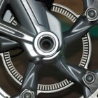 Motorcycle wheels should be cleaned every week, to prevent rust and stains.