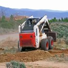 Skid steer loaders are often used for agricultural and construction purposes.