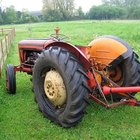 The B414 is a classic agricultural tractor.