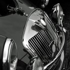 Chrome is often used on automobiles and motorcycles.