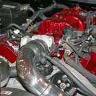An engine like this may use a camshaft position sensor to send engine operation data to the car's computer.