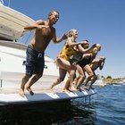 How to Make Your Own Swim Platform for a Boat