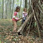 How to Make a Fort in the Woods