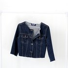 No Strings Attached: Make Your Own Distressed Cropped Denim Jacket