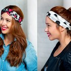 DIY Twisted Turban Headband