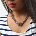 DIY Knotted Chain Necklace