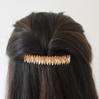 DIY Rhinestone Hair Comb
