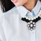 Mix Materials With a DIY Pleated Pleather Necklace
