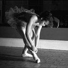 El cuerpo ideal de una bailarina