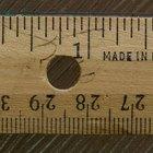 Diferencia entre pulgadas y centímetros