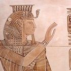 Cómo hacer las piezas de una cabeza egipcia