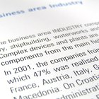How to Format a Title Page for a Business Report