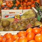 Lista de frutas y verduras con vitamina C