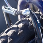 Dinamo eólico casero para bicicleta