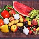 Dieta simple de frutas y vegetales