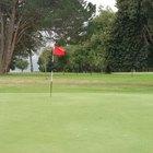 Altura del palo de la bandera de golf