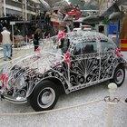 Fuerza de ajuste de los tornillos de un motor VW refrigerado por aire.