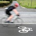 Cómo inflar las llantas de las bicicletas de calle