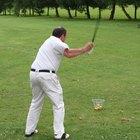 Cómo dejar de mover las manos durante un swing de golf
