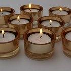 ¿Qué materiales contienen las velas aromáticas?