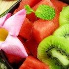 Cómo vender ensaladas de frutas