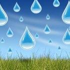 Actividades con palos de lluvia