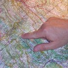 Cómo calcular distancias usando la escala de un mapa