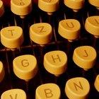 Cómo funciona una máquina de escribir Panasonic