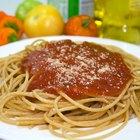 ¿Sirven los espagueti para bajar de peso?
