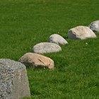 Cómo pintar una roca artificial