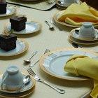 Como preparar una mesa de buffet que se vea profesional